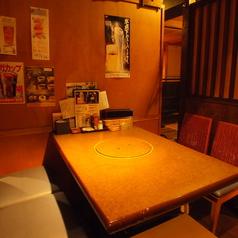 【テーブル席】人数に応じてレイアウト変更可能!