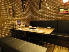 8名様より個室風にも可能なテーブル席です♪少人数宴会や、プライベート飲み会に♪
