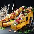 ★和・洋の創作料理の数々♪酒肴の珍味や揚げ物も豊富にご用意♪
