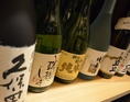 日本酒や焼酎も充実。道産はもちろん、全国の銘酒を多数取り揃えております。