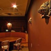 ライオンさんがこんにちは!「NIJYU-MARU 吉祥寺店」は装飾にもこだわりぬいております。合コンなどにもピッタリ♪