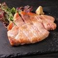 料理メニュー写真黒豚ステーキ