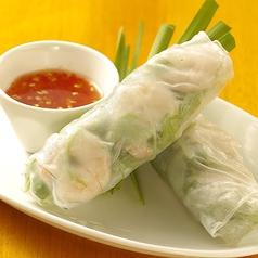 料理メニュー写真ベトナム生春巻き