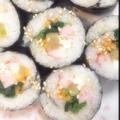 料理メニュー写真キンパ(海苔巻き)