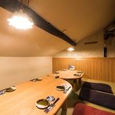 まるで家!?隠れ家のような完全個室は人気のお席です。ご希望の方はお尋ねください。