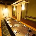 10名様~14名様心落ち着く旅館をイメージした個室