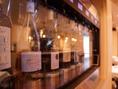 ワイン専用のサーバー常備で、ワインの酸化を防ぎ常に美味しい状態でワインをご提供