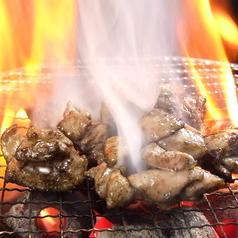 博多華味鳥の炭火焼き