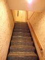 【イートイン】1Fの注文カウンターで注文後、左横の階段を上がって2Fに・・・