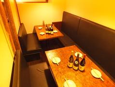 ◆会社帰りや休みの日のお食事に◆2~16名様のテーブル半個室のお席です。
