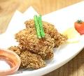 料理メニュー写真牡蠣フライ 自家製タルタルソース