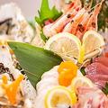 料理メニュー写真鮮魚刺身盛り合せ