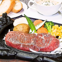 料理メニュー写真石垣リブロースステーキ 150g