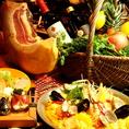 スペイン人シェフが魅せる!本格スペイン料理の数々!!