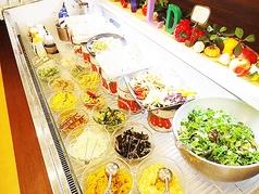 料理メニュー写真サラダコーナー