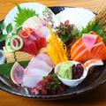 料理メニュー写真【お造り1番人気!】お造り四種盛り合わせ