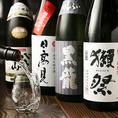 魚に合う日本酒を取りそろえ★人気の日本酒蔵元が醸す当店オリジナル酒は必飲!!他にも、季節にあわせて入荷している期間限定酒や、魚介と日本酒の相性を追求して出来た[漁師×酒蔵]のコラボ酒など、魚米自慢の日本酒ラインナップをお楽しみ下さい♪