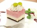料理メニュー写真フランボワーズレアーチーズケーキ