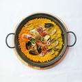 料理メニュー写真《ブイヨン》 贅沢魚介のパエリア (2人前)