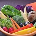 ベジダイニングナイン金山店の野菜は一味違う。ベジダイニグナイン金山店のバーニャカウダは契約農家から直送する有機野菜をたっぷりとお楽しみいただけます。野菜のコクとうまみを最大限に活かすためにブレンドした特製バーニャカウダーソースもここだけの美味しさです。美味しく身体にも優しい自慢のお料理です!