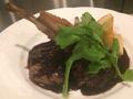 料理メニュー写真仔羊のグリル 赤ワインバルサミコソース
