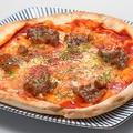 料理メニュー写真アツアツ!牛たんピザ