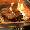 豪快に焼き上げるお肉はジューシーで旨味が凝縮!!