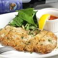 料理メニュー写真ミラノ風カツレツ 自家製トマトソース添え