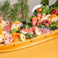『馬と魚』馬肉と鮮魚を一度に楽しめちゃいます☆