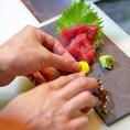 くら田‐燎‐(かがりび) ※一品一品心を込めて御造りします。全国各地から仕入れる旬の鮮魚はぜひ一度お召し上がり下さい◎