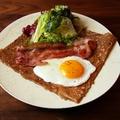 料理メニュー写真朝食に☆モーニング☆ガレットベーコン