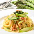 料理メニュー写真世羅産アスパラと桜海老のスパゲティーニ