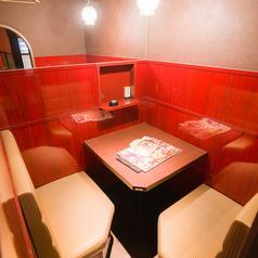 2名様用の人気半個室席。
