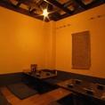 広々空間は、個室・個室風。