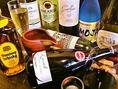 【おすすめドリンク】イタリアワイン、スパークリングワインを10種類以上置いています。