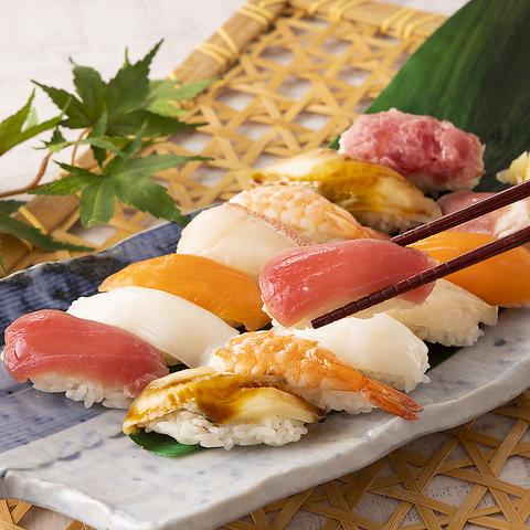 [平日]スタンダードコース◆ブッフェ+寿司50種食べ放題⇒1869円(税込)