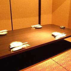数人で会社帰りやお食事で!4名部屋
