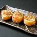 料理メニュー写真鶏肉の明太トースト