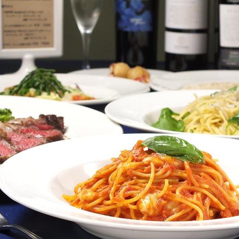 シェフのセンスが光る繊細なイタリアの郷土料理 ~ワインとのマリアージュ~