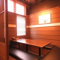 大小個室や半個室を完備♪