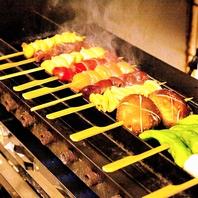 串焼きは1本から選べます