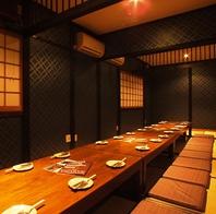 会社宴会には16名、22名個室を。最大45名まで対応OK