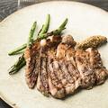 料理メニュー写真優味豚 肩ロース肉のグリル(150g)