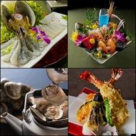 四季に応じて旬な海鮮を楽しめる最高の贅沢なひととき