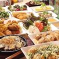 120分全メニュー食べ飲み放題コースは2500円でご提供しております!大阪の名物串カツなど、様々なお料理を好きなだけ堪能できます♪コースとご一緒に各種宴会のご予約を承っております!皆さんで楽しいひと時をお楽しみください!