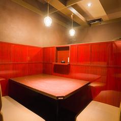 3名様用の人気半個室。