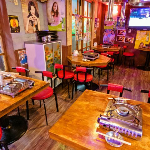 ☆コリアンタウンの中心と言えるイケメン通りにある一軒家の韓国料理店!!