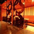 【和×居酒屋×宴会】和の落ち着いた雰囲気と洋の優雅な雰囲気を重ねた新Styleのデザイナーズ空間☆最大100名程度収容可能な個室も完備しております。各種会社宴会やイベントなどの時期に御利用下さい!!