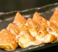 料理メニュー写真カラメルチーズ巻