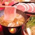 料理メニュー写真ゆず豚の贅沢柚子しゃぶしゃぶ(一人前)※二人前より注文可